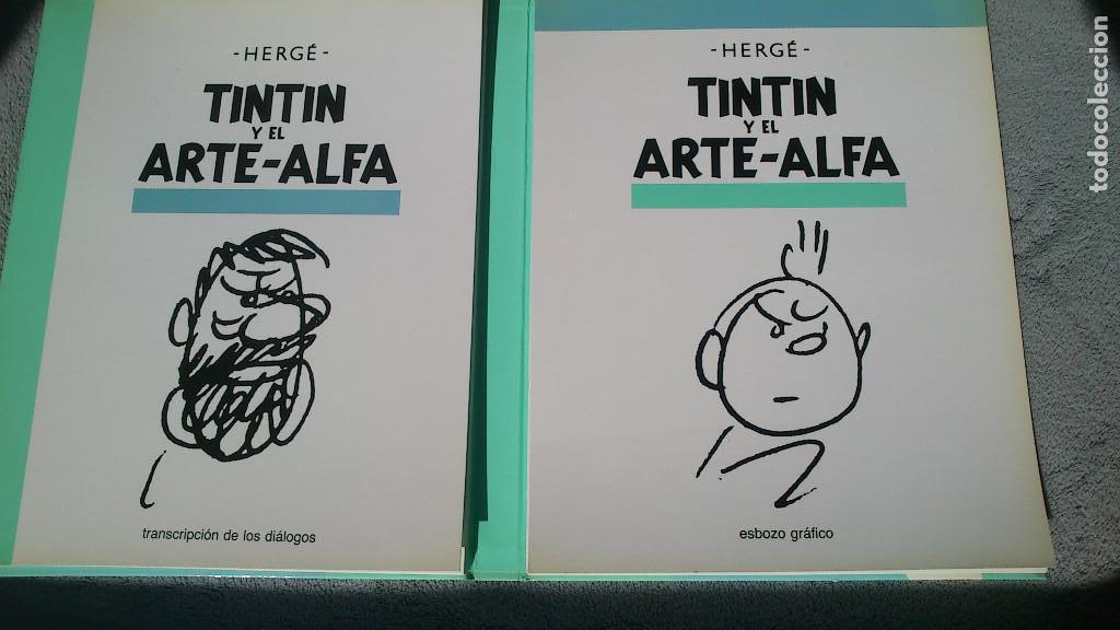 Cómics: TINTIN Y EL ARTE-ALFA - HERGÉ - JUVENTUD - 1ª EDICIÓN 1987 - NUEVO - Foto 7 - 93869075