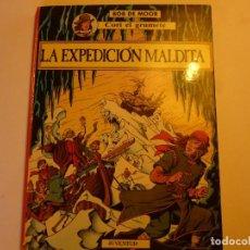 Cómics: CORI EL GRUMETE - LA EXPEDICION MALDITA - BOB DE MOOR - PRIMERA EDICION 1989 -. Lote 94040185