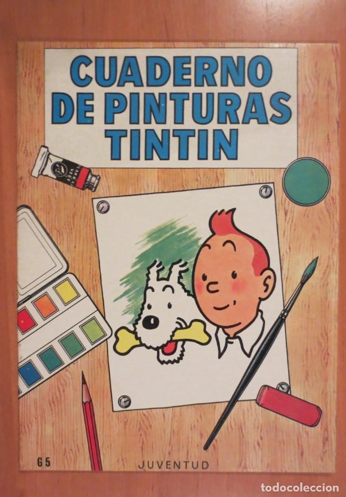 CUADERNO DE PINTURAS TINTIN (Tebeos y Comics - Juventud - Otros)