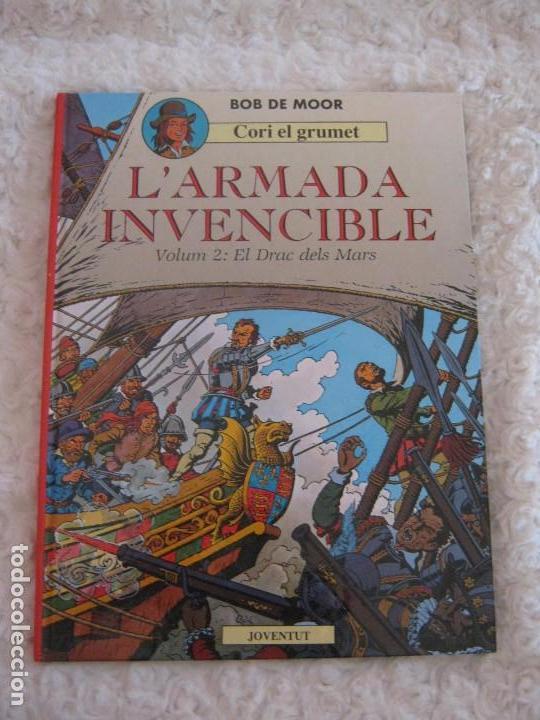 CORI EL GRUMET - L´ARMADA INVENCIBLE - VOLUM -2 EL DRAC DELS MARS - CATALA (Tebeos y Comics - Juventud - Cori el Grumete)