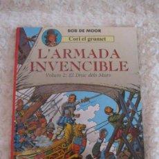 Cómics: CORI EL GRUMET - L´ARMADA INVENCIBLE - VOLUM -2 EL DRAC DELS MARS - CATALA. Lote 94595139