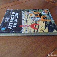 Cómics: TINTIN ATERRIZAJE EN LA LUNA QUINTA EDICIÓN 1970. LOMO TELA, TAPA DURA.. Lote 94828119