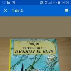 Cómics: LAS AVENTURAS DE TINTIN. EL TESORO DE RACKHAM EL ROJO. HERGE. 16 EDICION: 1998. Lote 95090818