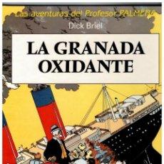 Cómics: LAS AVENTURAS DEL PROFESOR PALMERA -LA GRANADA OXIDANTE- 1ª EDICIÓN,1990.MUY BUENO.. Lote 95313807