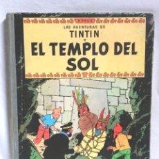 Cómics: TINTIN EL TEMPLO DEL SOL EDITORIAL JUVENTUD AÑO 1961 DE HERGÉ SEGUNDA EDICIÓN. Lote 95327571