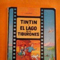 Cómics: TINTIN Y EL LAGO DE LOS TIBURONES . 1A PRIMERA EDICION MARZO 1974 JUVENTUD .. Lote 95747815