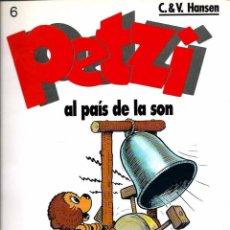 Cómics: PETZI Nº 6 - PETZI AL PAIS DE LA SON - ED. JOVENTUT 1992 1ª EDICIO - ULTIM NUMERO - RAR - UNIC A TC. Lote 95753211