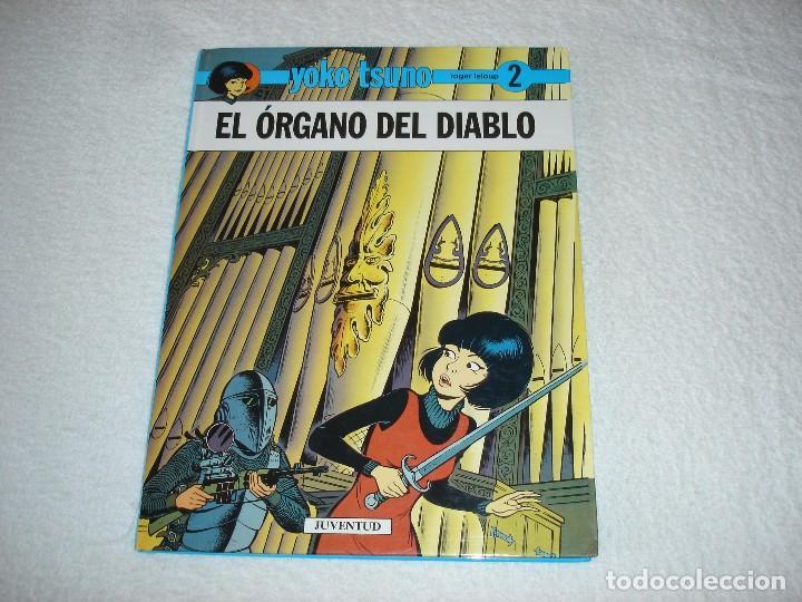 YOKO TSUNO, EL ORGANO DEL DIABLO (ROGER LELOUP) - EDIT JUVENTUD 1ª EDICION 1991 (Tebeos y Comics - Juventud - Yoko Tsuno)