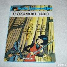 Cómics: YOKO TSUNO, EL ORGANO DEL DIABLO (ROGER LELOUP) - EDIT JUVENTUD 1ª EDICION 1991. Lote 95962347