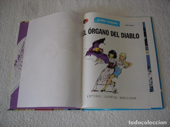 Cómics: YOKO TSUNO, EL ORGANO DEL DIABLO (ROGER LELOUP) - Edit JUVENTUD 1ª Edicion 1991 - Foto 2 - 95962347