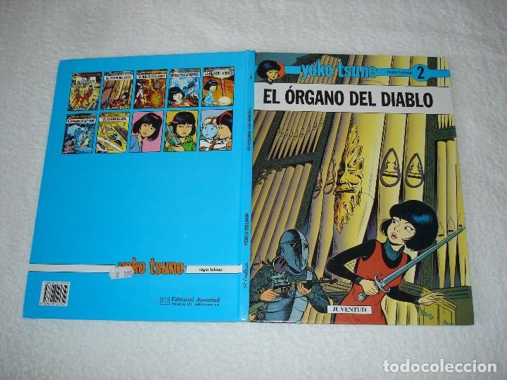 Cómics: YOKO TSUNO, EL ORGANO DEL DIABLO (ROGER LELOUP) - Edit JUVENTUD 1ª Edicion 1991 - Foto 4 - 95962347