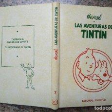 Cómics: LAS AVENTURAS DE TINTIN, TOMO Nº 7 (EN EL PAIS DE LOS SOVIETS Y EL DICCIONARIO) - HERGE (JUVENTUD). Lote 96027651