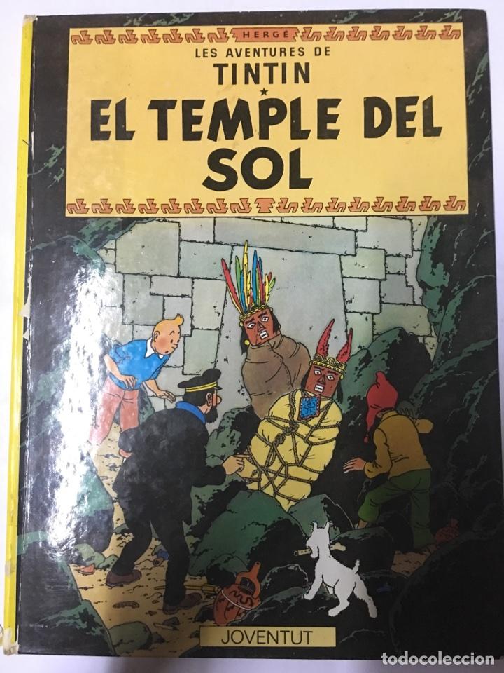 LES AVENTURES DE TINTÍN- EL TEMPLE DEL SOL (Tebeos y Comics - Juventud - Tintín)