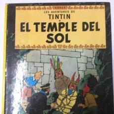 Cómics: LES AVENTURES DE TINTÍN- EL TEMPLE DEL SOL. Lote 96576994