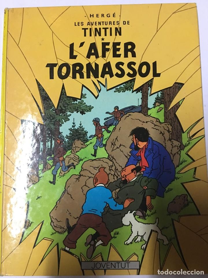 LES AVENTURES DE TINTÍN- L'AFER TORNASSOL (Tebeos y Comics - Juventud - Tintín)