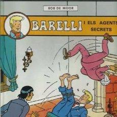 Cómics: BARELLI 5: BARELLI I ELS AGENT SECRETS, 1992, PRIMERA EDICIÓN, IMPECABLE. Lote 96655439