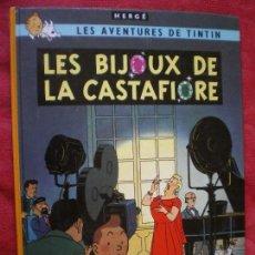 Cómics: LES AVENTURES DE TINTIN. LES BIJOUX DE LA CASTAFIORE. HERGÉ. CASTERMAN. FRANCES. Lote 96916411