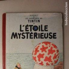 Cómics: COMIC LES AVENTURES TINTIN L´ÉTOILE MYSTERIEUSE 1955. Lote 97214347