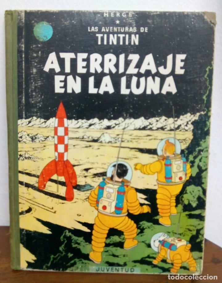 ATERRIZAJE EN LA LUNA (Tebeos y Comics - Juventud - Tintín)