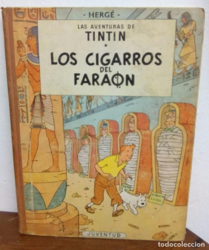LOS CIGARROS DEL FARAON (Tebeos y Comics - Juventud - Tintín)
