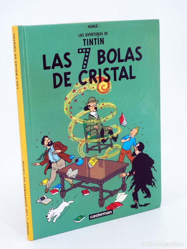 LAS AVENTURAS DE TINTIN LAS 7 BOLAS DE CRISTAL. ED PEQUEÑA (HERGÉ) CASTERMAN, 2001. DIFÍCIL (Tebeos y Comics - Juventud - Tintín)