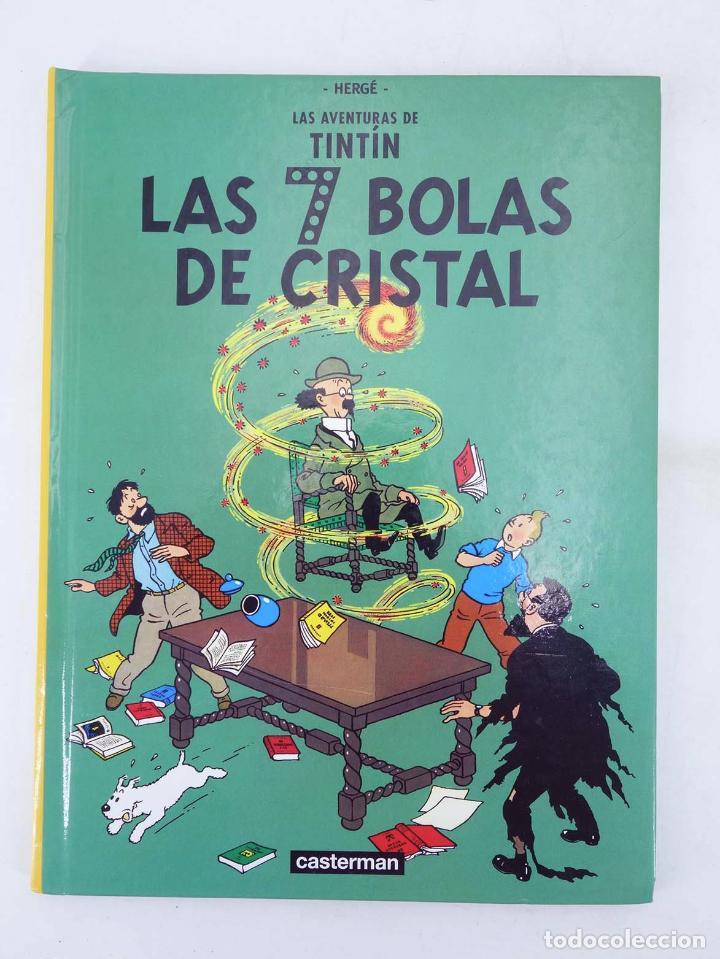Cómics: LAS AVENTURAS DE TINTIN LAS 7 BOLAS DE CRISTAL. ED PEQUEÑA (Hergé) Casterman, 2001. DIFÍCIL - Foto 2 - 97781556