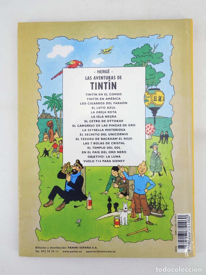 Cómics: LAS AVENTURAS DE TINTIN LAS 7 BOLAS DE CRISTAL. ED PEQUEÑA (Hergé) Casterman, 2001. DIFÍCIL - Foto 6 - 97781556