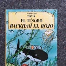 Cómics - Tintin El Tesoro de Rackham el Rojo - Edición pequeña - Casterman - numerado en lomo como 12 - 97938643