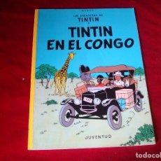 Cómics: TINTIN EN EL CONGO EDITORIAL JUVENTUD VIGESIMO PRIMERA EDICION 2004. Lote 97942883