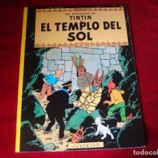 Cómics: TINTIN EL TEMPLO DEL SOL EDITORIAL JUVENTUD VIGESIMA EDICION 2003. Lote 105121676