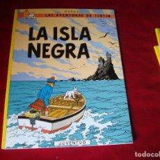 Cómics: TINTIN LA ISLA NEGRA EDITORIAL JUVENTUD DECIMOSEPTIMA EDICION 2003. Lote 97946483