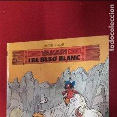 Cómics: YAKARI I EL BISÓ BLANC - YAKARI 2 - DERIB & JOB - CARTONE. Lote 98118287