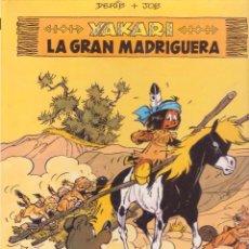 Cómics: YAKARI -- Nº 10 LA GRAN MADRIGUERA. Lote 98685215