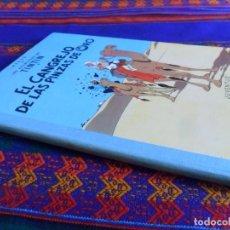 Cómics: TINTIN EL CANGREJO DE LAS PINZAS DE ORO 12ª DUODÉCIMA EDICIÓN 1989. JUVENTUD LOMO TELA. MBE. RARO.. Lote 98862287