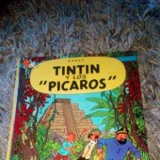 Cómics: TINTIN Y LOS PICAROS JUVENTUD 1A EDICION 1976 EN MUY BUEN ESTADO. Lote 98898647
