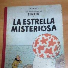Cómics: COMIC TINTIN LA ESTRELLA SEGUNDA EDICION LOMO TELA EDITORIAL JUVENTUD . Lote 98924735