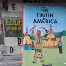 Cómics: TINTIN EN AMERICA,HERGE,EDITORIAL CASTERMAN. Lote 98927551