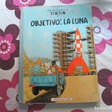 Cómics: TIN TIN OBJETIVO LA LUNA EDICION 1965. Lote 99082611