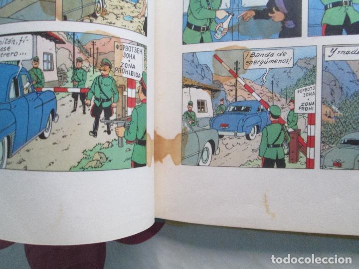 Cómics: TIN TIN OBJETIVO LA LUNA EDICION 1965 - Foto 2 - 99082611