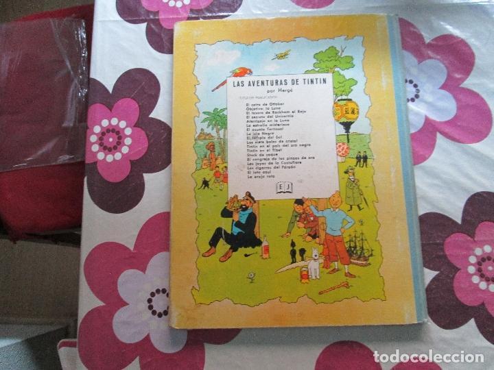 Cómics: TIN TIN OBJETIVO LA LUNA EDICION 1965 - Foto 3 - 99082611