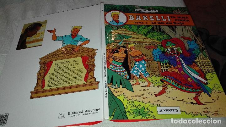 BARELLI EN NUSA PENIDA TOMO 1 LA ISLA DEL BRUJO AÑO 1990 (Tebeos y Comics - Juventud - Barelli)