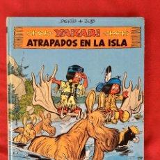 Cómics: YAKARI 1988 PRIMERA EDICIÓN ATRAPADOS EN LA ISLA BIEN ESTADO TAPA DURA. Lote 99278363