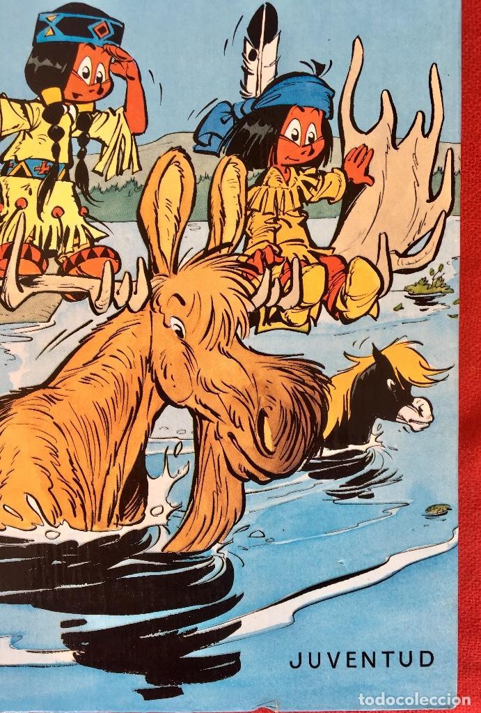 Cómics: Yakari 1988 primera edición atrapados en la isla bien estado tapa dura - Foto 3 - 99278363
