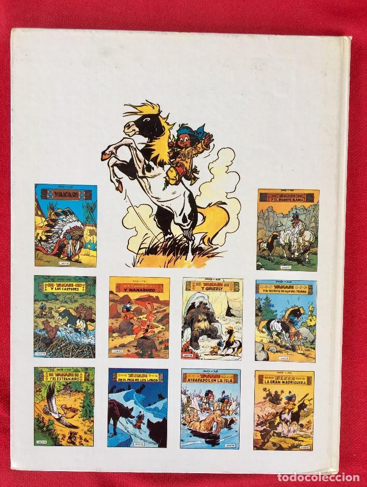 Cómics: Yakari 1988 primera edición atrapados en la isla bien estado tapa dura - Foto 4 - 99278363