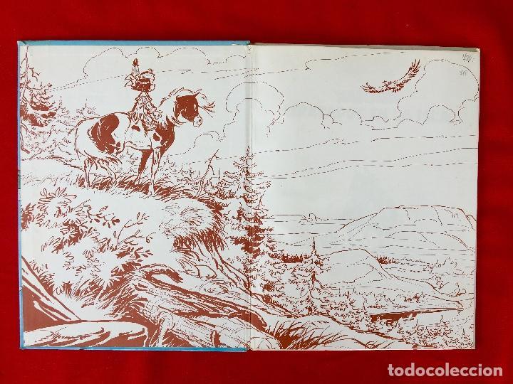 Cómics: Yakari 1988 primera edición atrapados en la isla bien estado tapa dura - Foto 6 - 99278363