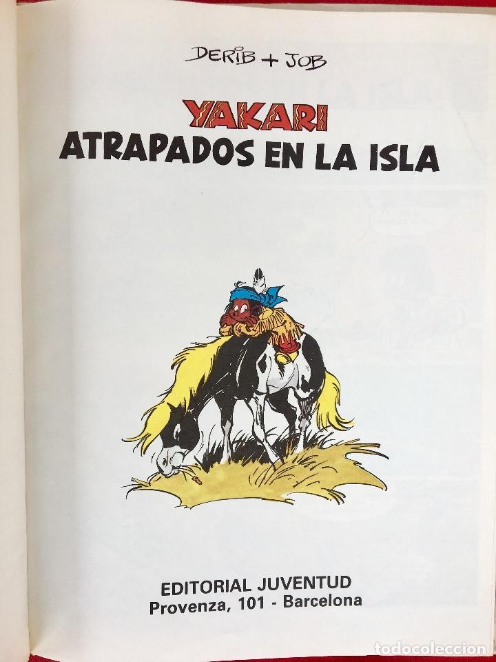 Cómics: Yakari 1988 primera edición atrapados en la isla bien estado tapa dura - Foto 7 - 99278363