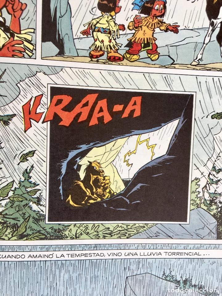 Cómics: Yakari 1988 primera edición atrapados en la isla bien estado tapa dura - Foto 10 - 99278363