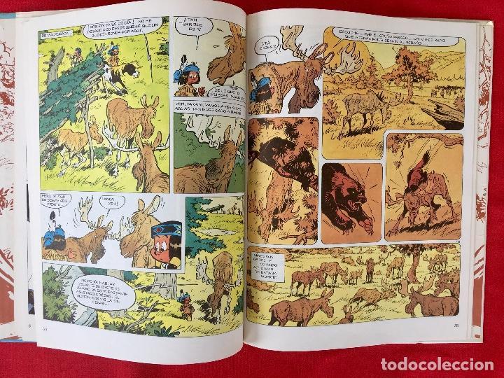 Cómics: Yakari 1988 primera edición atrapados en la isla bien estado tapa dura - Foto 11 - 99278363