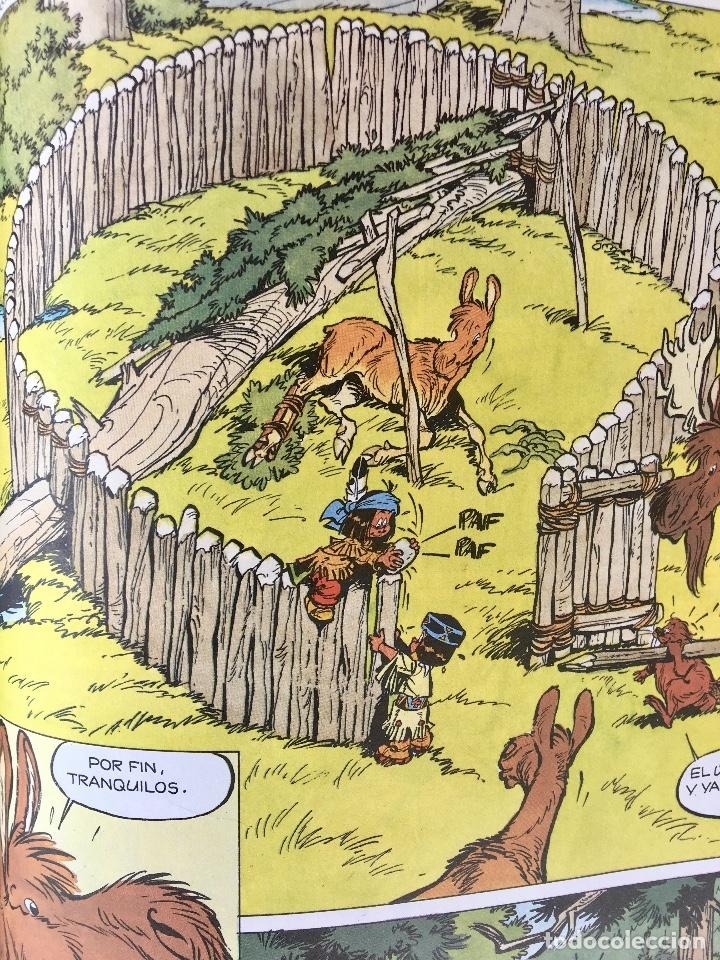 Cómics: Yakari 1988 primera edición atrapados en la isla bien estado tapa dura - Foto 12 - 99278363