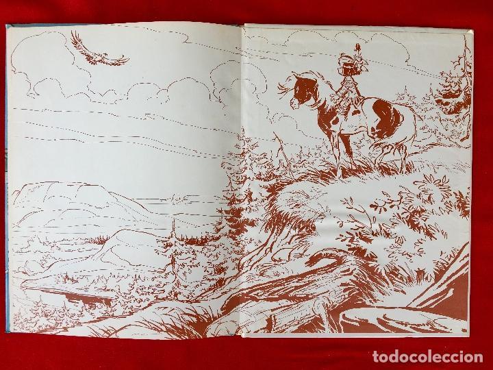 Cómics: Yakari 1988 primera edición atrapados en la isla bien estado tapa dura - Foto 14 - 99278363